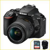 Câmera Nikon D5600 kit com 18-55mm f/3.5-5.6G VR AF-p DX -