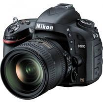 Câmera Nikon D610 AF-S 24-85mm VR - Preto -