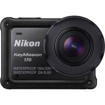 Câmera Nikon KeyMission 170, Wi-Fi - Preto -