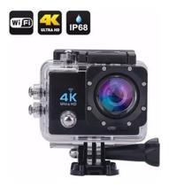 Câmera Para Esporte Action 4k Wifi Mergulho Cor Preto - Action 4K Sport