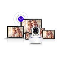 Camera Robo 3 Antenas Ip Wifi 360º 720p Sistema Full Hd - Yoosee