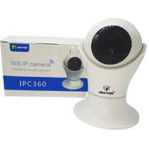 Câmera Robo Ip 2 Antena Wifi Wireles Hd Audio Visão Noturna - Jortan