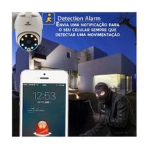 Camera Smart IP IPC 360 Wi-Fi Banda Larga Monitoramento 24h Vias Smartphone - Durawell