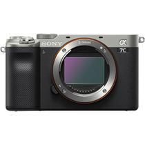 Câmera Sony A7c Prata 24.2mp 4k Wifi -