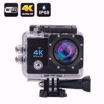 Camera Sport Açao Film Wifi 4k Ultra Moto Bike Capacete Trilha Mergulho - Sportcam