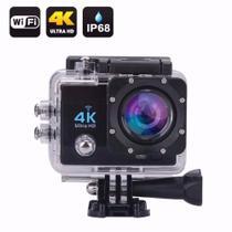 Câmera Sport Action Go Ultra 4k Full Hd Pro WiFi Prova dagua - Import