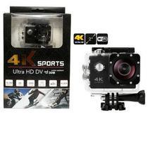 Câmera Sport Action Go Ultra 4k Full Hd Pro WiFi Prova dagua - mv games - Aregames