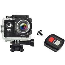 Câmera Sport Prova Dágua 4k Wifi Action Controle Remoto - Sports Cam