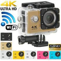 Camera Sport Wifi 4k Pro Filmadora Fotografica 16mp Full - Sports