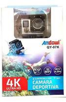 Câmera Sportiva 4k Andowl Action WI-FI Câmera Impermeável(Branco) -