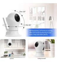 Camera wifi 360 Segurança Smart - Jortan
