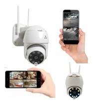 Câmera Wifi Ip A Prova De Agua Movimento Wireless Externo 8167QP Durawell -