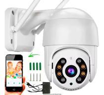 Camera Wifi Ip Hd Rotativa Externa Visão Noturna Prova Dágua - Icsee