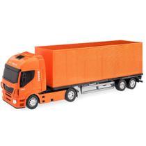 Caminhão Baú Iveco Hi -Way - Usual Brinquedos -