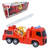 Caminhão Bombeiro Aventura E Diversão Roda Livre - Apolo Brinquedos