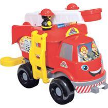 Caminhão Bombeiros Grande Com Som - Mercotoys -