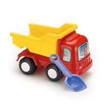 Caminhão Caçamba De Brinquedo Com Pá - Beach Car - 28 Cm - Plasnorthon