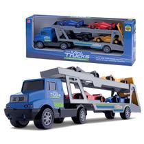 Caminhão Cegonha Cegonheira Mini Truck Formula - Samba Toys