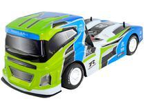 Caminhão com Controle Remoto Super Truck Sport - 7 Funções CKS Azul e Verde
