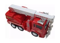 Caminhão De Bombeiro Musical E Led Bate E Volta - Fire Truck