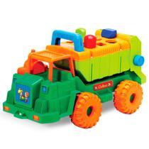 Caminhão de Lixo Multiformas Com Peças de Encaixe Gulliver Baby 12 Meses+ - 5002 - Guliver