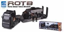 Caminhão Roma Diesel Tático Blindado - Roma Brinquedos -