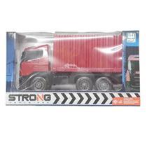 Caminhão Strong Container Sortidos 2003 - Nig Brinquedos -