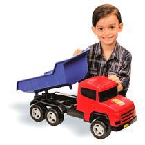 Caminhão Super Truck Caçamba - Adijomar Brinquedos -