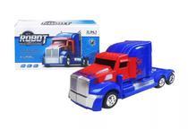 Caminhão Transformers Optimus Prime Pilha Vira Robô Som Luz - Barcelona