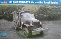 Caminhao US GMC CCKW-352 Machine Turret Version 83833 - HOBBYBOSS -