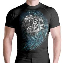 Camis Rash Guard White Lion Térm S UV ATL - Atlética Esportes