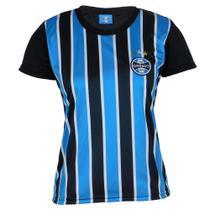 Camisa Baby Look Dry Feminina Grêmio Original  Torcedor -