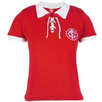 Camisa Baby Look Feminina Retrô Internacional Gola Polo Nº 9 -
