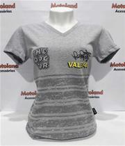Camisa Baby Look Feminina Valentino Rossi Vr 46 Cachorro Moto Gp 225 -