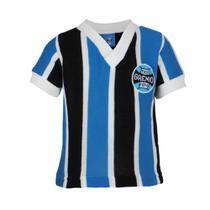 Camisa Bebê Grêmio Retrô Libertadores 1983 Gola V Nº 7 -