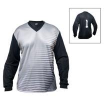 d668cc1d9e08e Camisa Blusão Goleiro- Futebol   Futsal   Society - Parma - N1 - Cinza