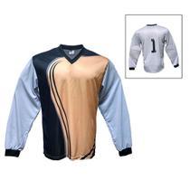 ccb956ad1e485 Camisa Blusão Goleiro- Futebol   Futsal   Society- Parma - N1 - Dourado
