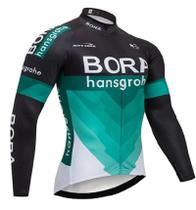 Camisa Bora Manga Longa Dry Fit Mtb Ciclismo Bike  Ziper Bicicleta - Decole