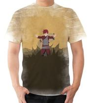 Camisa Camiseta Personalizada Gaara,naruto,sasuke Anime 4 - Dias no Estilo