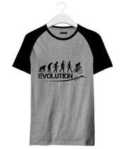 Camisa Camiseta Raglan Bike Evolution Bike Speed - Loja Bobkin