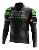 Camisa Cannondale Manga Longa Ziper Bike Mtb Dry Fit Ciclismo - Decole