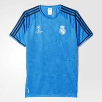 CAMISA Champions REAL MADRID AZUL original -