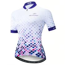 Camisa Ciclismo Ciclista Roupa Bike Mtb Feminina Key - Lei Li Imports