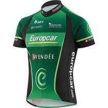 Camisa ciclismo louis garneau equipe pro replica europcar -