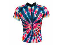 Camisa Ciclismo Mountain Bike Feminina Tie-Dye - Pro Tour