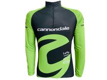 Camisa Ciclismo Mountain Bike Masculina Cannondale Verde - Pro Tour