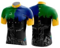 Camisa Ciclismo Sódbike Nações - Brasil Preta -