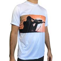 Camisa com Proteção UV Atirador Manga Curta - Raju P -