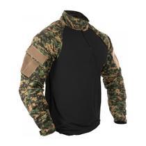 Camisa Combat Shirt Bravo Tática - Marpat -