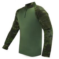 Camisa Combat Shirt Bravo Tática - Multicam Tropic -
